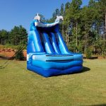 Photo of 16' inflatable slide