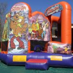 Photo of combo bounce house with slide